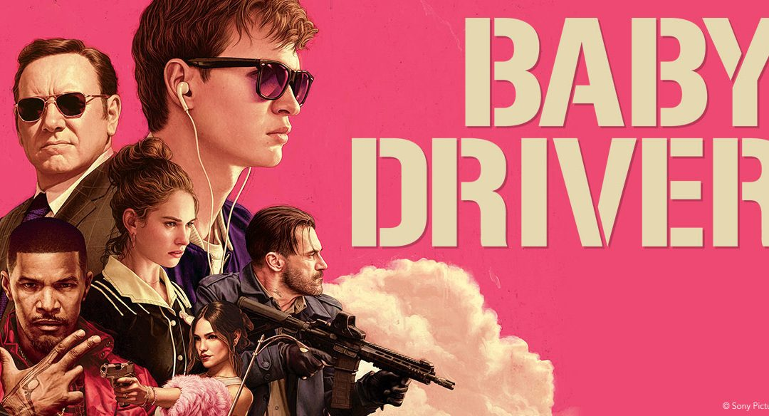 Baby Driver at Hitchin Lavender